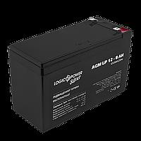 Аккумулятор кислотный AGM LogicPower LP 12 - 8,0 AH SILVER