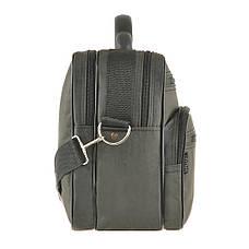 Мужская сумка Wallaby 36х26х16 ткань кринкл, пластиковая ручка  в 2653х, фото 3
