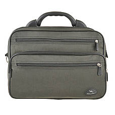Мужская сумка Wallaby 36х26х16 ткань кринкл, пластиковая ручка  в 2653х, фото 2