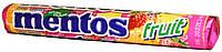 Конфеты жевательные Mentos Fruits 38г.