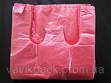 Пакет майка 25*45  (красная) 0.380 кг (а 200)