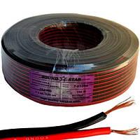 Кабель питания низковольтный Sound Star 2x0.75мм² CCA красно-черный Цена за 100м