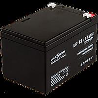 Аккумулятор кислотный AGM LogicPower LP 12 - 14 AH SILVER, фото 1