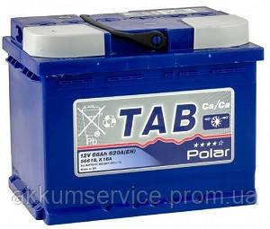 Аккумулятор автомобильный TAB Polar Blue 66AH R+ 620A (121066)