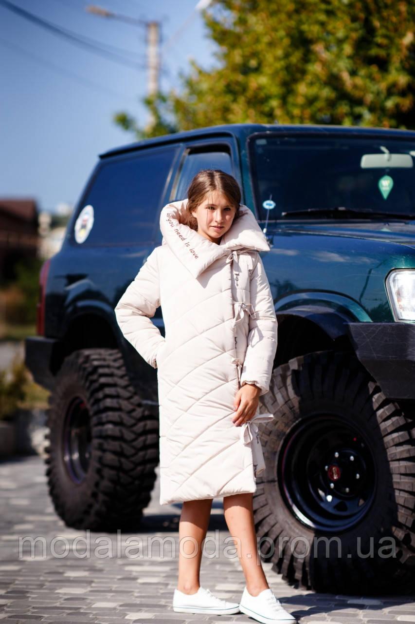Пальто KEY для девочки зимнее  ОПТОМ!