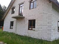 Кладка з газо блоку, у Львівській обл., фото 1