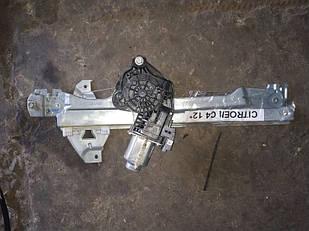 Склопідйомник задній правий Citroen C4 2011-