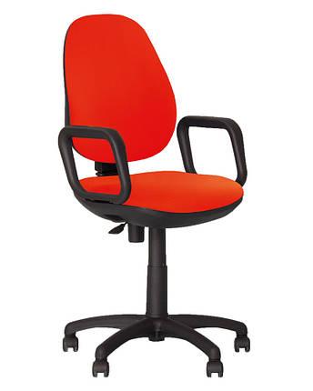 Крісло офісне Comfort GTP механізм CPT хрестовина PL62 тканина LS-76 (ТМ Новий Стиль), фото 2