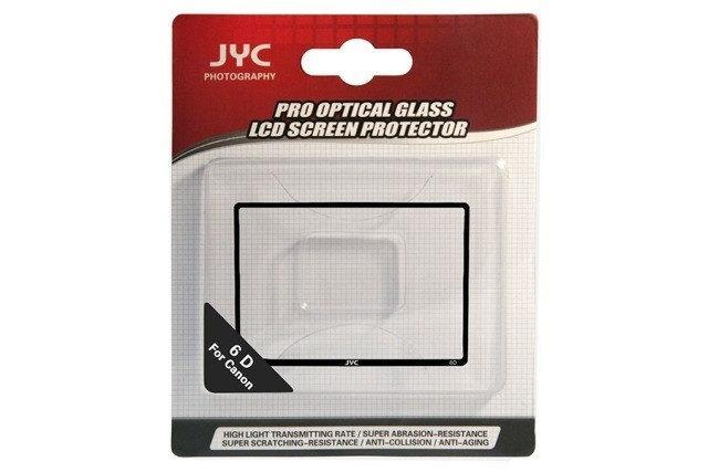 Защитное стекло JYC для LCD экрана фотоаппаратов Canon 6D  ( на складе )