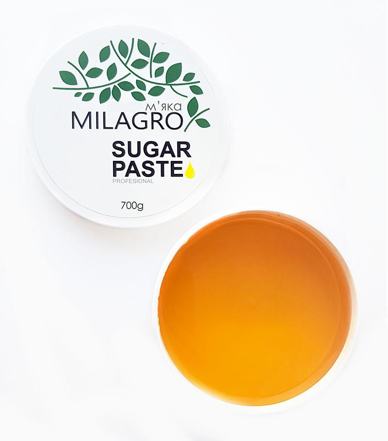 Сахарная паста для шугаринга Milagro Мягкая 700 г (vol-357)