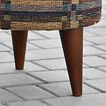 Мебельная ножка из дерева конусная под углом Н 120-150, фото 2
