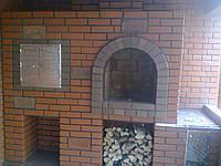 Кладка з клінкерної цегли, у Львівській обл., фото 1