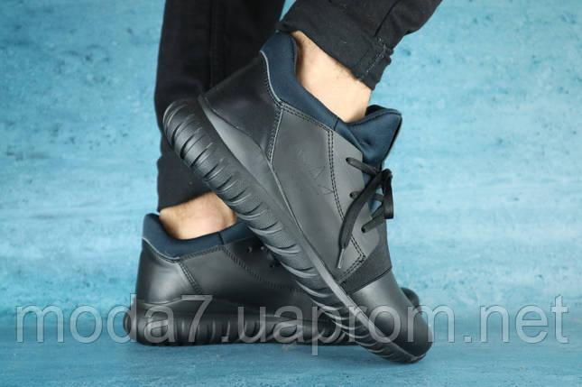Кроссовки мужские Best Vak Б 35 -01 черный (натуральная кожа, зима), фото 2
