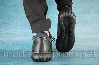Кроссовки мужские Best Vak Б 35 -01 черный (натуральная кожа, зима), фото 3