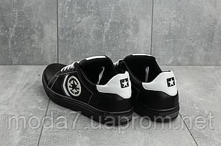 Кеды мужские CrosSAV 115 черные (натуральная кожа, весна/осень), фото 2