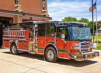 Детские пазлы Пожарная машина на 180 элементов Сastorland