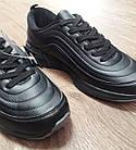 Кроссовки Bonote чёрные кожзам сезон осень/весна р.45, фото 3