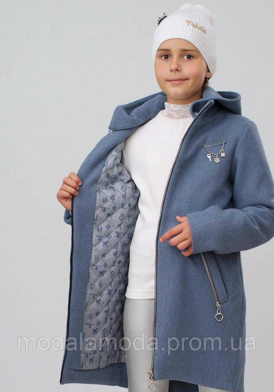 Кашемировое пальто для девочки. Только опт!!