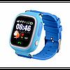 Детские телефон-часы с GPS трекером Smart Watch Q90 blue, фото 4