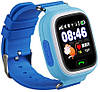 Детские телефон-часы с GPS трекером Smart Watch Q90 blue, фото 2