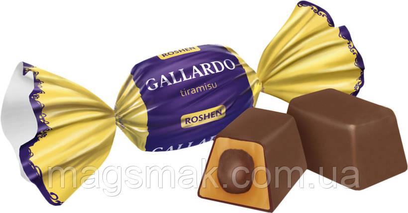Конфеты Gallardo tiramisu, Рошен, фото 2
