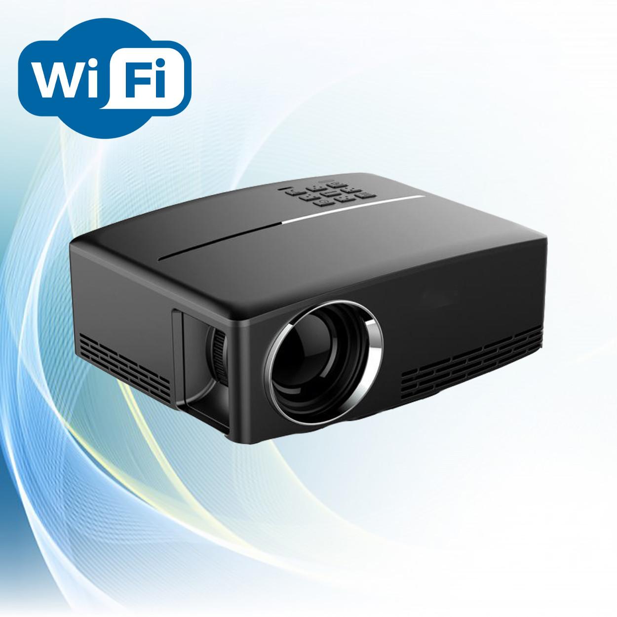 Проектор мультимедийный Wi-light GP80 Wi-Fi проектор портативный Проектор для дома Оригинал