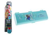 Детская зубная щетка на батарейках ORAL-B DB4.510 (принцесы)+футляр, фото 1