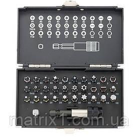 Набор бит, магнитный адаптер,сталь S2,пластиковый кейс,32 предм.//GROSS 11363