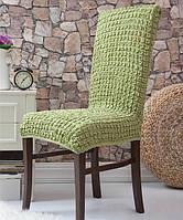 Набор чехлов для стульев Venera 6 шт 10-228 Фисташковый (без оборок)