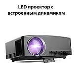 Проектор мультимедийный Wi-light GP80 Wi-Fi проектор портативный Проектор для дома Оригинал, фото 5