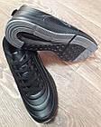 Кроссовки Bonote чёрные кожзам сезон осень/весна р.46, фото 6