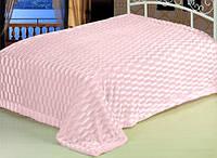Плед-покрывало Awa Норка 220х240см темно-розовое