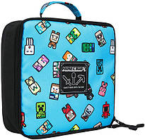 Ланчбокс JINX Minecraft Bobble Mobs Lunch Box, Blue