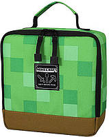 Ланчбокс JINX Minecraft Blocks Lunch Box, Green