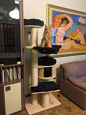 Игровой комплекс для котов Eco Premium XL с домиком для кошки и когтеточкой, фото 2