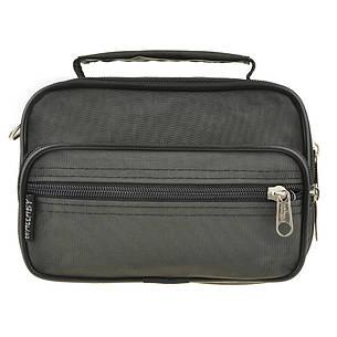 Мужская сумка-барсетка Wallaby ткань кринкл хаки 18х13х8,5   в 2663х, фото 2