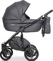 Дитяча універсальна коляска 2 в 1 Riko Naturo Ecco 04 Antracite, фото 1