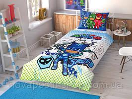 TAC PJ Masks Cek (картинка оживает), комплект детского постельного белья подростковый