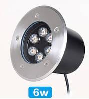 Светильник грунтовый LED UG-0601  6W RGB 12V  IP67 размер 150мм*90мм, фото 2