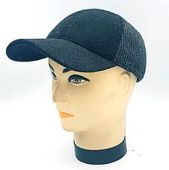 Мужская демисезонная кепка Klaus Шерсть Серый (370-МД) L