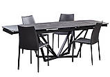 Обеденный кожаный стул GRAND (Гранд) черный Concepto (бесплатная доставка), фото 9