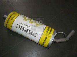 Глушитель ВАЗ 2123 ШЕВРОЛЕ-НИВА (на выхлопную систему GM) усиленный (Экрис). 2123-1200010