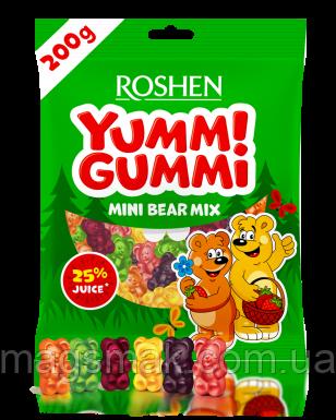 Желейні цукерки Yummi Gummi Mini Mix Bear 200г, фото 2