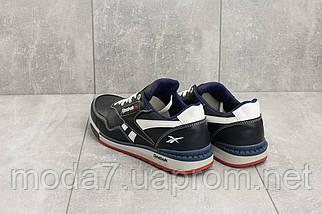Кроссовки мужские CrosSAV 18 синие-белые (натуральная кожа, весна/осень), фото 2