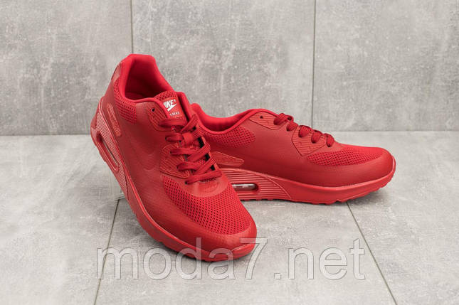 Кроссовки мужские Classica G 5082 -3 красный (искусственная кожа, лето), фото 2