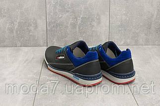 Кроссовки мужские CrosSAV 39 синие-голубые (натуральная кожа, весна/осень), фото 2