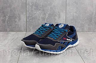 Кроссовки мужские CrosSAV 50 синие-голубые (текстиль, лето), фото 2