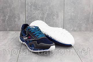 Кроссовки мужские CrosSAV 50 синие-голубые (текстиль, лето), фото 3