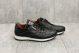 Кроссовки мужские Yuves R 250 черные (натуральная кожа, весна/осень), фото 3