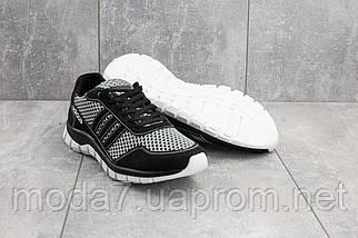 Кроссовки мужские CrosSAV 23 черные-серые (текстиль, лето), фото 2